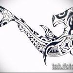 Крутой пример эскиза наколки АКУЛА – рисунок подойдет для тату акула якоремтату акулы груди