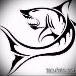Классный пример эскиза наколки АКУЛА – рисунок подойдет для тату акула якоремтату акулы груди