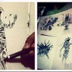 Классный пример эскиза татуировки Анубис – рисунок подойдет для тату анубис с весами