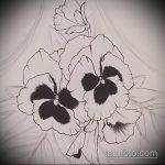 Прикольный пример существующей татуировки белка – рисунок подойдет для фото тату белка и стрелка