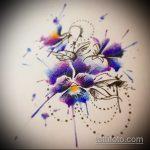 Классный вариант готовой татуировки белка – рисунок подойдет для тату белка в колесе