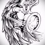 Крутой эскиз тату крылья – рисунок наколки крыло подойдет для тату крылья на грудине мужские