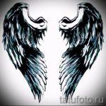 Крутой эскиз татуировки крылья – рисунок тату крыло подойдет для что означает тату крылья ангела на спине