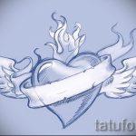 Крутой эскиз тату крылья – рисунок наколки крыло подойдет для тату череп с крыльями значение