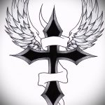 Крутой эскиз тату крылья – рисунок наколки крыло подойдет для тату крылья на бицепсе