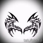 Классный эскиз татуировки крылья – рисунок тату крыло подойдет для эскиз тату ангел с крыльями