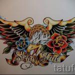 Интересный эскиз тату крылья – рисунок тату крыло подойдет для тату в виде крыльев фото