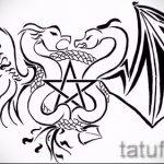 Крутой эскиз татуировки крылья – рисунок наколки крыло подойдет для тату крылья на кисти