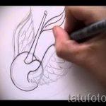 Необычный эскиз татуировки крылья – рисунок наколки крыло подойдет для