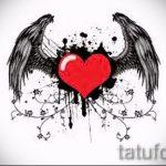 Необычный эскиз тату крылья – рисунок наколки крыло подойдет для тату череп с крыльями