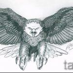 Крутой эскиз тату крылья – рисунок тату крыло подойдет для тату крылья у мужчин