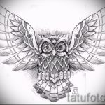 Интересный эскиз татуировки крылья – рисунок наколки крыло подойдет для тату крылья на грудине мужские