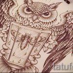 Необычный эскиз тату крылья – рисунок тату крыло подойдет для тату крылья на руке у девушек