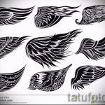 Крутой эскиз татуировки крылья – рисунок наколки крыло подойдет для что означает тату крылья ангела
