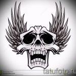 Классный эскиз тату крылья – рисунок наколки крыло подойдет для под крылом ангела тату на испанском