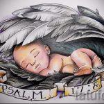 Крутой эскиз тату крылья – рисунок наколки крыло подойдет для тату крыло на запястье значение