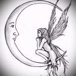 Необычный эскиз тату крылья – рисунок наколки крыло подойдет для тату надпись под крылом ангела