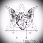 Необычный эскиз татуировки крылья – рисунок тату крыло подойдет для тату эскизы крылья на спину