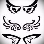 Крутой эскиз тату крылья – рисунок тату крыло подойдет для что означает тату крыло на руке