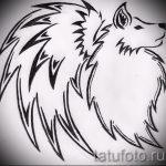 Интересный эскиз тату крылья – рисунок наколки крыло подойдет для тата крылья спине