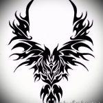 Классный эскиз татуировки крылья – рисунок тату крыло подойдет для тату меч с крыльями