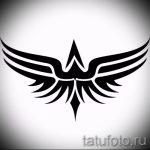 Классный эскиз татуировки крылья – рисунок наколки крыло подойдет для что означает тату крылья