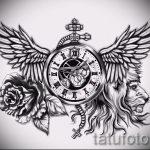 Интересный эскиз тату крылья – рисунок тату крыло подойдет для тату имя крыльями