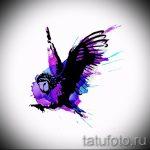Классный эскиз тату крылья – рисунок тату крыло подойдет для глаз крыльями тату
