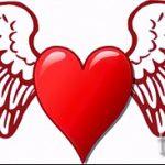 Необычный эскиз татуировки крылья – рисунок тату крыло подойдет для тату крылья у девушек фото