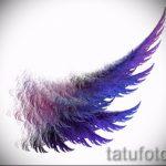 Крутой эскиз тату крылья – рисунок тату крыло подойдет для дети крылья тату