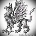 Интересный эскиз татуировки крылья – рисунок тату крыло подойдет для тату крылья на руке мужские