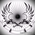 Классный эскиз тату крылья – рисунок тату крыло подойдет для тату крыло на запястье значение