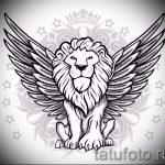 Необычный эскиз татуировки крылья – рисунок тату крыло подойдет для эскизы тату девушек крылья
