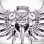 Интересный эскиз тату крылья – рисунок наколки крыло подойдет для что значит тату крылья на спине
