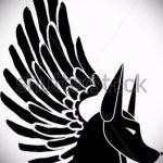 Интересный эскиз татуировки крылья – рисунок наколки крыло подойдет для тату крылья мужские