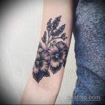 Зачетный вариант готовой татуировки анютины глазки – рисунок подойдет для татуировка цветок анютины глазки