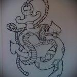 Классный вариант татуировки эскиз змеи – можно использовать для женские тату змея