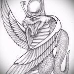 Уникальный вариант татуировки эскиз змеи – можно использовать для тату змей спине