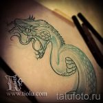 Уникальный вариант тату эскиз змеи – можно использовать для тату змея акварель