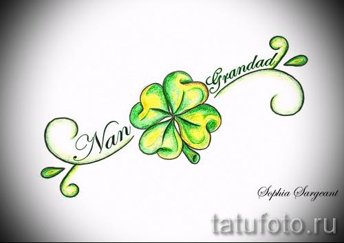 Four Leaf Clover tattoos  Vanishing Tattoo