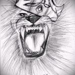 Прикольный вариант татуировки эскиз лев с короной – можно использовать для тату лев с короной на ноге