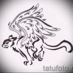 Уникальный вариант тату эскиз рысь – можно использовать для рысь оскалом тату