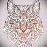 Достойный вариант тату эскиз рысь – можно использовать для смотреть тату рысь