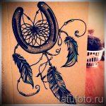 Прикольный вариант татуировки эскиз подковы – можно использовать для тату подкова в реализме фото