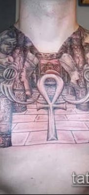 Фото тату Анкх (значение) – пример интересного рисунка тату – 049 tatufoto.com