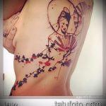 фото тату балерина №262 - достойный вариант рисунка, который хорошо можно использовать для доработки и нанесения как тату балерины на руке