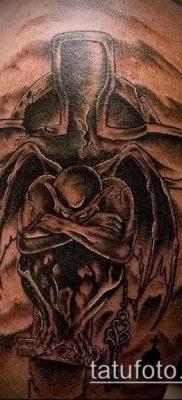 Фото тату гаргулья (значение) — пример интересного рисунка тату — 006 tatufoto.com