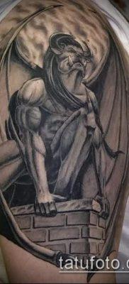 Фото тату гаргулья (значение) — пример интересного рисунка тату — 007 tatufoto.com
