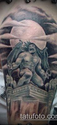 Фото тату гаргулья (значение) — пример интересного рисунка тату — 013 tatufoto.com