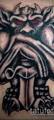 Фото тату гаргулья (значение) — пример интересного рисунка тату — 014 tatufoto.com